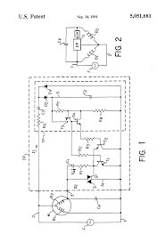 patent us5051681 electronic circuit for a single phase induction