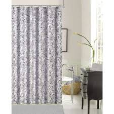 Purple And Brown Shower Curtain Silver Shower Curtains Shower Accessories The Home Depot
