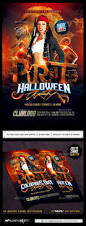 free halloween party flyer templates pirate party flyer template by industrykidz graphicriver