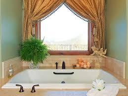bathroom window curtain ideas with elegant design home interior