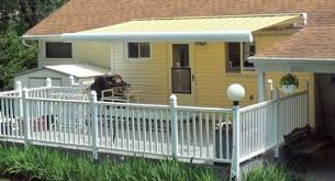 Roof Mounted Retractable Awning Residential Portland Or Mcgee Blinds U0026 Awnings