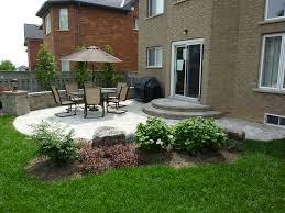 Garden Ideas Small Backyard Stone Patio Landscaping Ideas Front Yard Landscaping Ideas