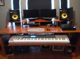 Recording Studio Desks Fabulous How To Build A Music Production Desk Youtube With