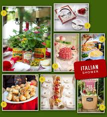 themed wedding shower an italian themed wedding shower myweddingfavors wedding tips