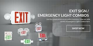 exit emergency light combo led exit lights company slider emergency light combo newlevel site