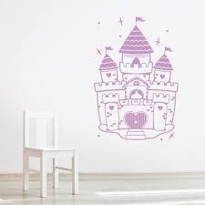 25 princess castle wall decal disney princess and castle wall princess castle wall decal