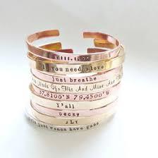 Personalized Cuff Bracelet Bracelets Collection Gift Ideas