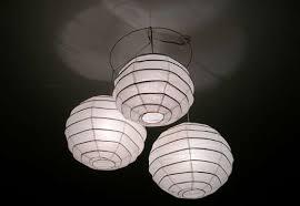 How To Make Paper Light Lanterns - an easy diy rice paper lanterns chandelier tutorial frugal