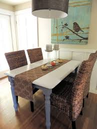 dining room rattan dining chairs presenting modern rusticity for
