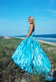 romantic tie dye wedding gown must have to fill colors