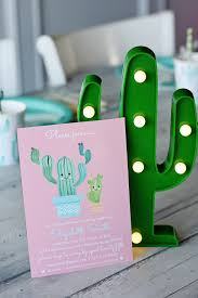 throw the cutest cactus baby shower project nursery