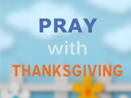 Thanksgiving Pray Prayer U2013 Eternity Club