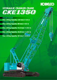 kobelco 250 ton crawler crane load chart the best crane 2017