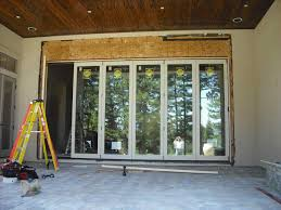 Aluminium Folding Patio Doors Bi Fold Patio Doors Aluminum Frameless Exterior Bifold Doors