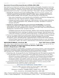 Resume Sample Finance by Resume Samples Chief Financial Officer Multi Industries