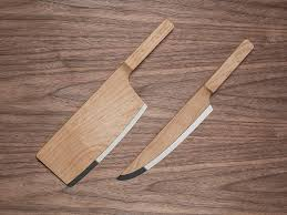 Nesting Kitchen Knives The Classic Knife Dressed In Wood Federal Knives And Woods