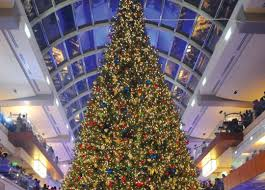 building the galleria u0027s massive christmas tree houstonia