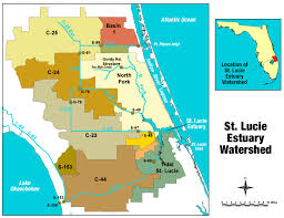 Map Of Kissimmee St Lucie River Wikipedia