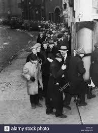 depression era bread line york city stock photo royalty free