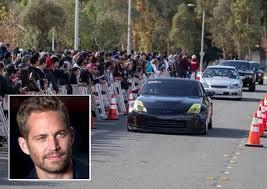car fans cruise for paul walker wheels24