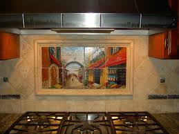 incredible tile murals for kitchen backsplash decorating ideas