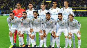 Real Madrid Real Madrid Squad 2017 2018