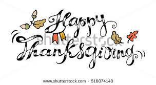 happy thanksgiving card celebration stock vector