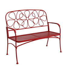 Steel Outdoor Bench Shop Patio Benches At Lowes Com