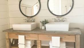 Open Shelf Bathroom Vanity Bathroom A Complete Diy Master Bathroom