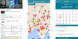 Walking Map App Free App Oslo Official City App