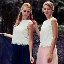 tulle skirt bridesmaid bridesmaid tulle skirt and optional lace top by matchimony