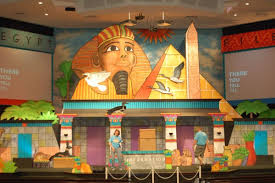 Vbs Decorations First Baptist Church Groves Vacation Bible U2013 Egypt June 26