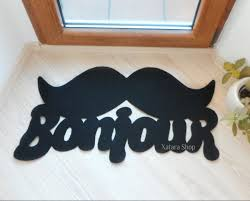 Mustache Home Decor by Flooring U0026 Rugs Interesting Funny Doormats For Floor Decorating