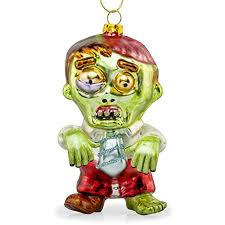 zombie christmas tree ornaments voodoo zombie and walking dead