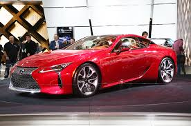 lexus lc 500 detroit 2016 6 cars we u0027d like to take home from the 2016 detroit auto show
