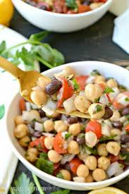 cuisine legume middle eastern bean salad balela veggies save the day