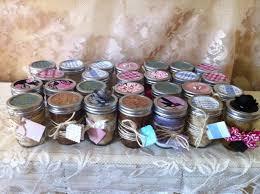 rustic wedding shower favors 50 organic sugar body scrubs in 8 oz