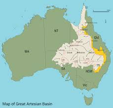 Australian Map Of The World by Friends Of Mound Springs Far North Of South Australia