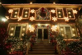 dyker heights christmas lights tour 2017 christmas house decoration lights display in the suburban brooklyn