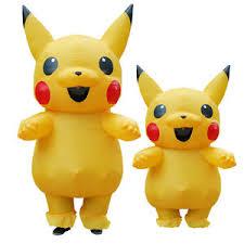 Inflatable Halloween Costume Usa Adults Inflatable Pikachu Costume Pokemon Cosplay Halloween