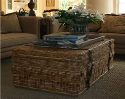 best of wicker coffee tables with enchanting round wicker ottoman