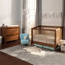 2 Piece Nursery Furniture Sets by Davinci 2 Piece Nursery Set Highland 4 In 1 Convertible Crib And