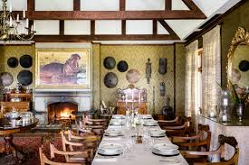 Roosevelt Lodge Dining Room by Singita Sasakwa Lodge Serengeti Singida Region Tanzania