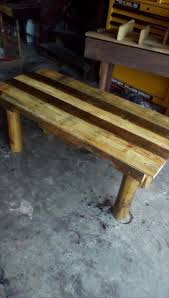 Patio Furniture Made From Wood Pallets by Rustic Coffee Table Made From Pallets 99 Pallets