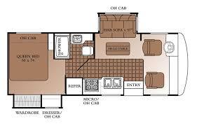 Hi Lo Camper Floor Plans 2004 Georgie Boy Landau Class A Rvweb Com