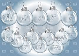 collection of clear glass christmas ball ornaments all can