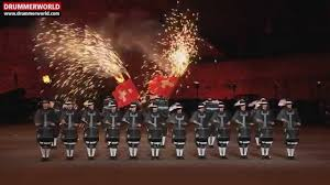 top secret drum corps royal edinburgh military tattoo 2015 youtube