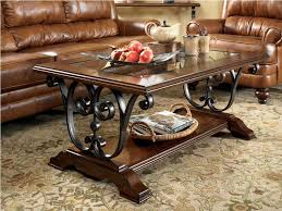 oval coffee table set matching console and end tables sofa 0001751