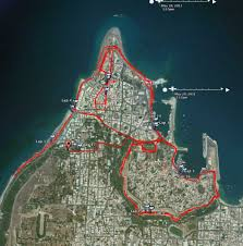 Map My Route Running by Rhodes Running Foot4ward