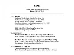high resume for college format heading resume title exles exle of resume title resume title